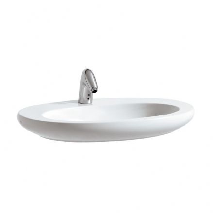 818972 - Laufen Alessi One 750mm x 520mm Bowl Washbasin & Vanity Unit - 8.1897.2